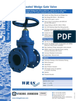 Resilient Seated Wedge Gate Valve Data Sheet