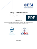 ESI Picture Story - Turkey Armenia Manual - August 2010
