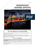 Riverfront Marine Sports Newsletter; November 2017