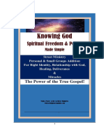 8.26 Free_ Knowing God, Spiritual Freedom and Power