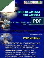 Pre Eklamsia - Dr.taufiqy