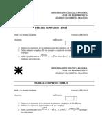 Complejos - Matrices - Sistemas de Ecuaciones - 2014