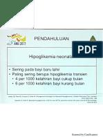 Manajemen Hipoglikemia