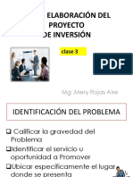 Clase 3 Proyectos