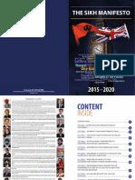 The Sikh Manifesto 2015 20