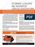 Transformer Monitor and Logger