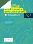 Estudios sobre ciudadania, movilización y conflicto social en la Argentina contemporárea