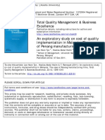 20an Exploratry Study of Implementation Cost of Quality in Malysia