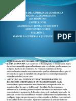 Expo Asamblea o Junta de Socios y Administradores