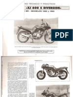 Manual Técnico - Diversion XJ 600 S
