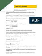 Cálculo de la Probabilidad