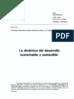 Cepal- la dinamica del desarrollo sustentable y sostenible.pdf