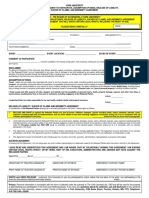 Event Risk Management Form 2014 15