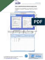 Estacion Total GTS-240NW_Importacion de Archivos Excel