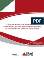Nt 1-2015 - Estudos Dos Aspectos Do Desenvolvimento Sustentável Para Geração de Eletricidade Por Meio de Fonte Eólica No Estado de Minas Gerais