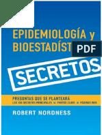 Serie Secretos Epidemiología y Bioestadística