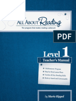 All About Reading Level1 TM Sample