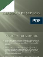 Capacidad de Servicio