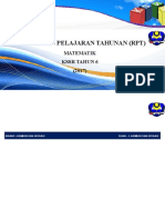 RPT Matematik 6