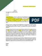 Carta Para Clientes