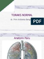 Pp Bimbingan Koas Toraks Normal Dr. Prim
