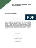 Modelo Petição Cerceamento de Defesa