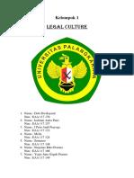 Legal Culture Deby