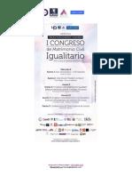 Programa Final Congreso Matrimonio Igualitario