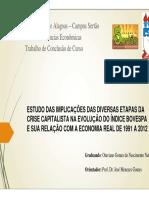 Slide - Estudo Das Implicações Das Diversas Etapas Da Crise Capitalista