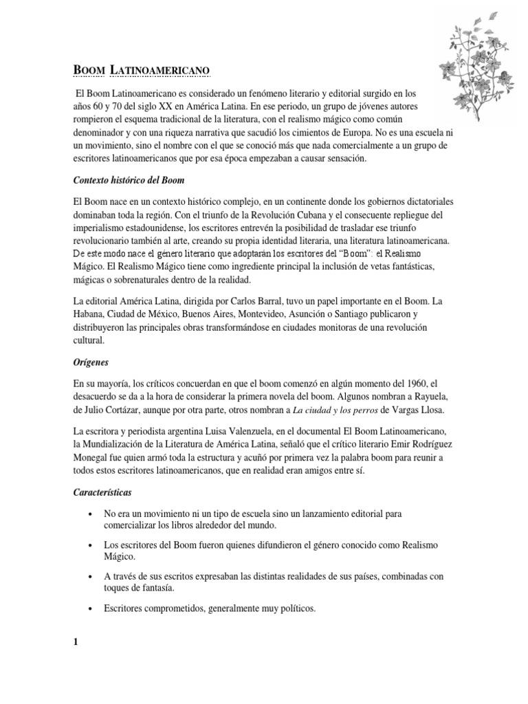 Boom Latinoamericano Ciencia Filosófica Ciencia