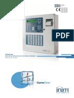 SmartLoop Central de detección de incendio analógica Manual de usuario