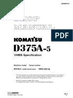 SM D375A-5 VHMS