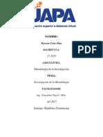 Metodología de Investigación - Dysson Coste