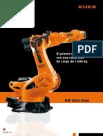 Kuka Robots Iberica Robot Industrial Catalogo Robot Kuka Kr 1000 Titan 506075