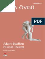 Alain Badiou - Aşka Övgü