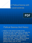 Relations of Political Science with other social sciences.ppt