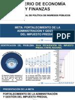 META 2017 PERU - MUNICIPALIDADES
