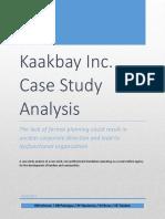 Kaakbay Inc. - Case Study Analysis