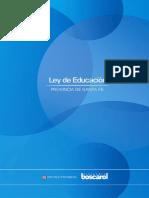 Proyecto Ley Educación Santa Fe
