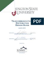 WSU Telecom Design Guide