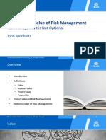 JSponholtz IPMD2015 the Business Value o 1440004