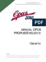 Manual+OPUS+2010