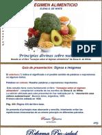 1- Consejos sobre el régimen alimenticio.pptx