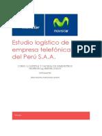Estudio Logístico de La Empresa Telefónica Del Perú S