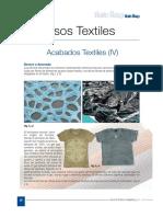 Acabados Textiles IV