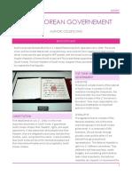 south korean governement newsletter