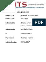 Strategic management on Grameen Phone