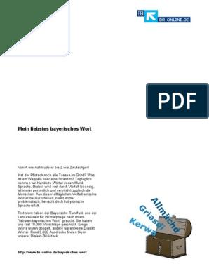 Bayerisches Wort