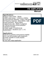 7W Amplifier Circuit TDA2003 - Circuitdiagram.net