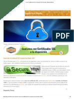 Crear Certificado SSL